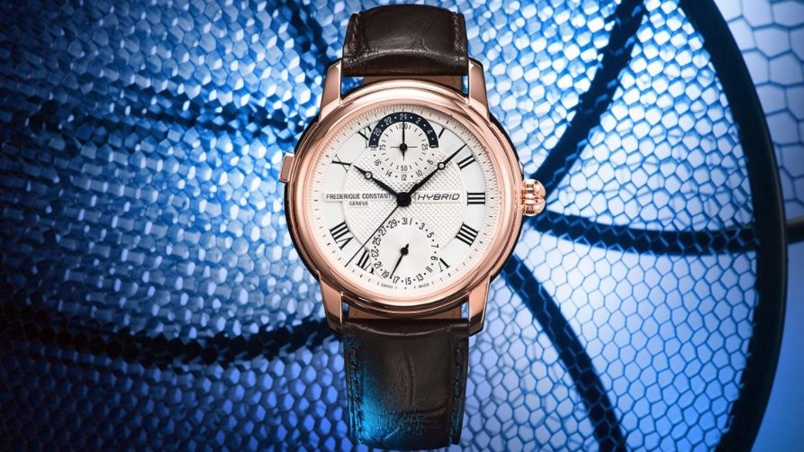 One of the first mechanical smartwatches is coming soon from Frederique Constant