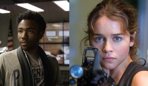 Han Solo Donald Glover Emilia Clarke