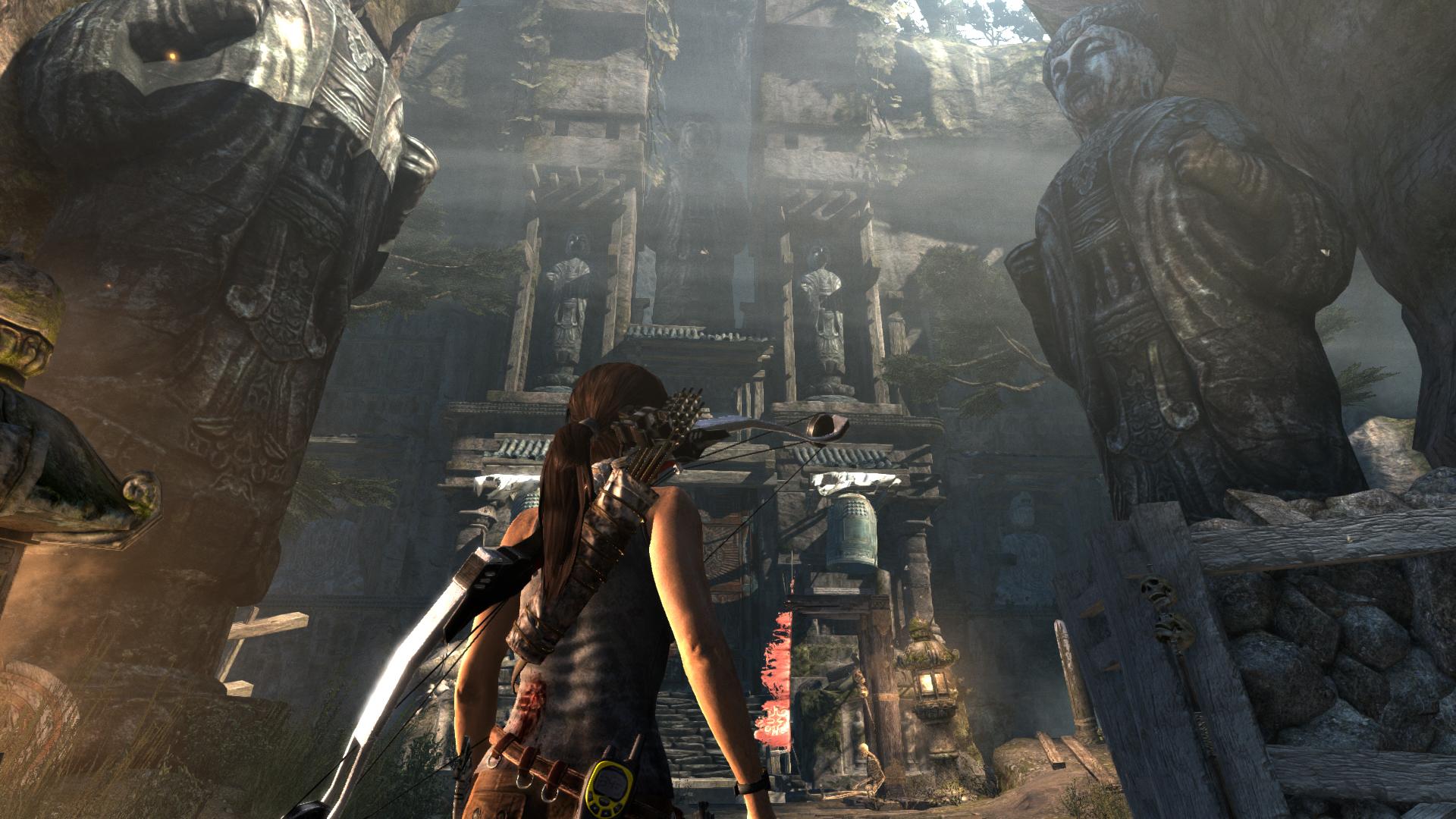 Tomb Raider Screenshots Explore Temple, Fight Samurai #25782