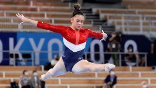 Gymnastics women's all-around final at Tokyo Olympics: Sunisa Lee of Team USA