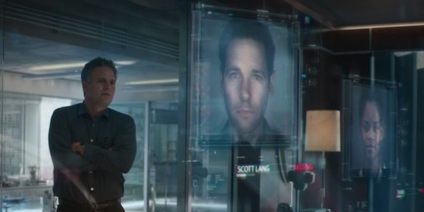 Bruce looking at the victims