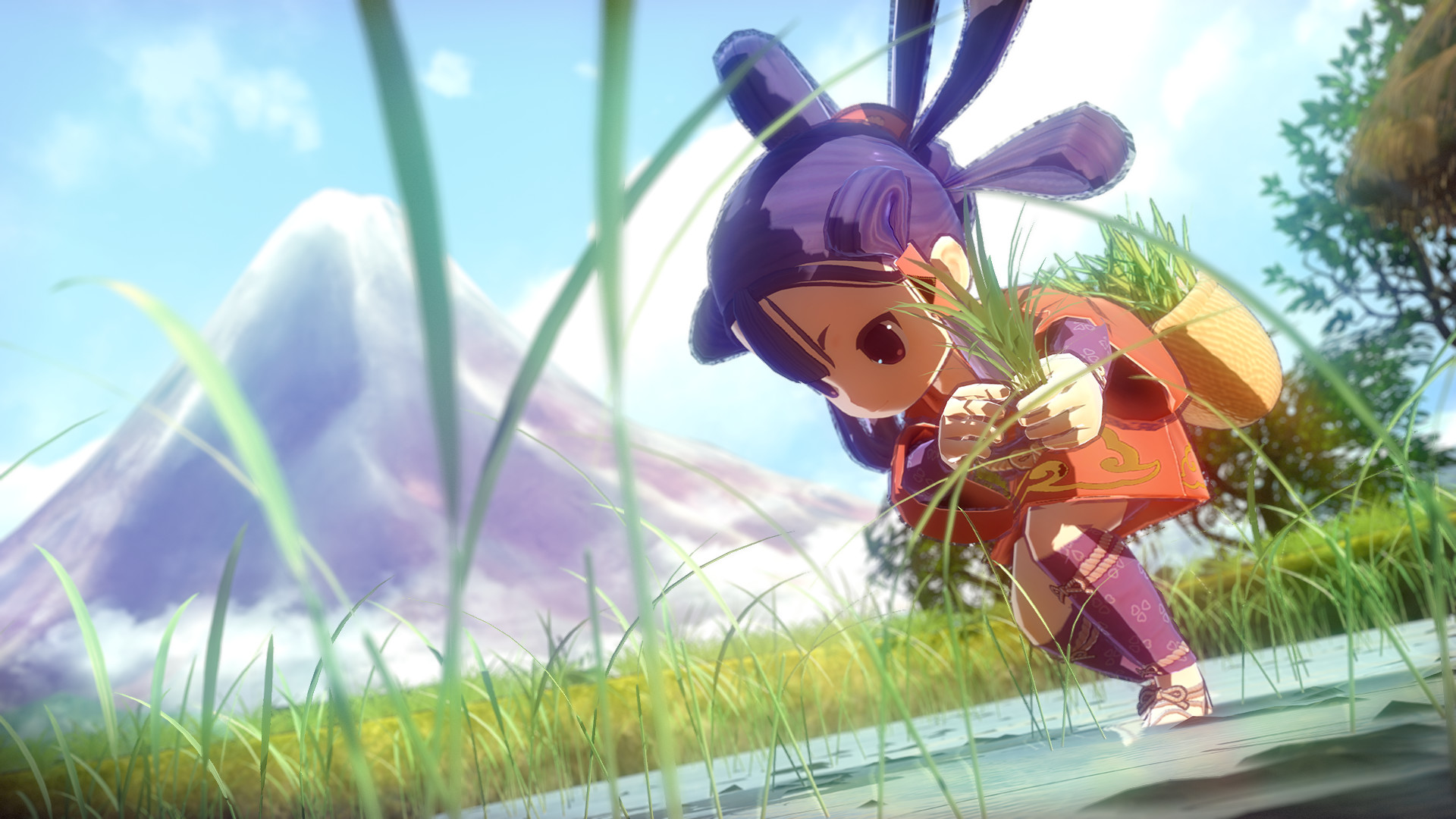 Growing crops in Sakuna: Of Rice and Ruin involves some serious hardcore farming