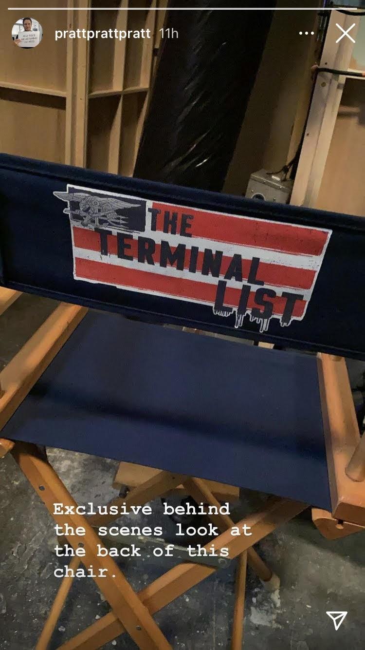 Terminal List chair