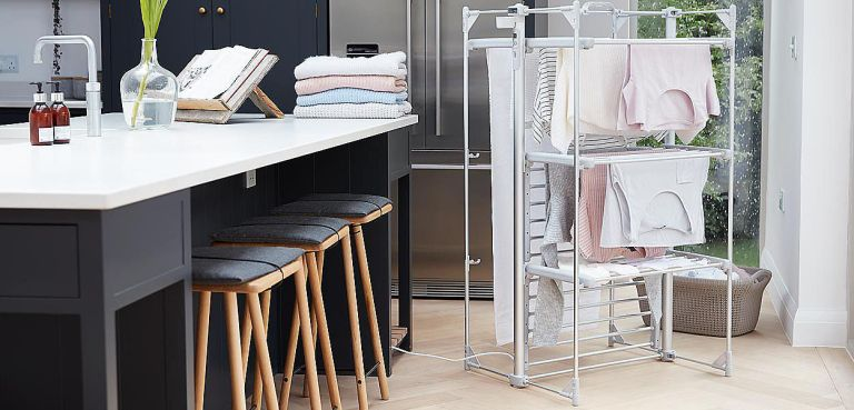 Lakeland laundry essentials: a heated drying rack