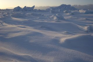 Snow over Arctic seas continues to thin according to historic Russian data and new NASA measurements.