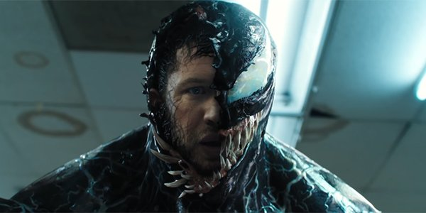 Tom Hardy's Eddie Brock and the Symbiote Venom