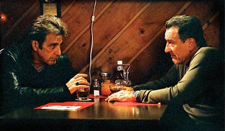 Righteous Kill - Al Pacino & Robert De Niro have another diner encounter