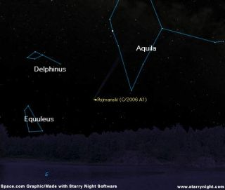 See it Now: New Comet Brightens Rapidly
