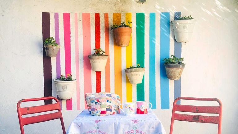 Garden wall transformation