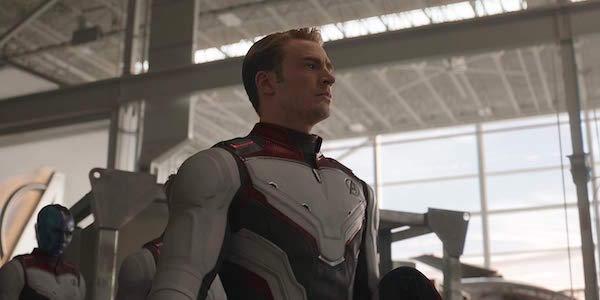 Captain America wearing Quantum Realm suit in Avengers: Endgame