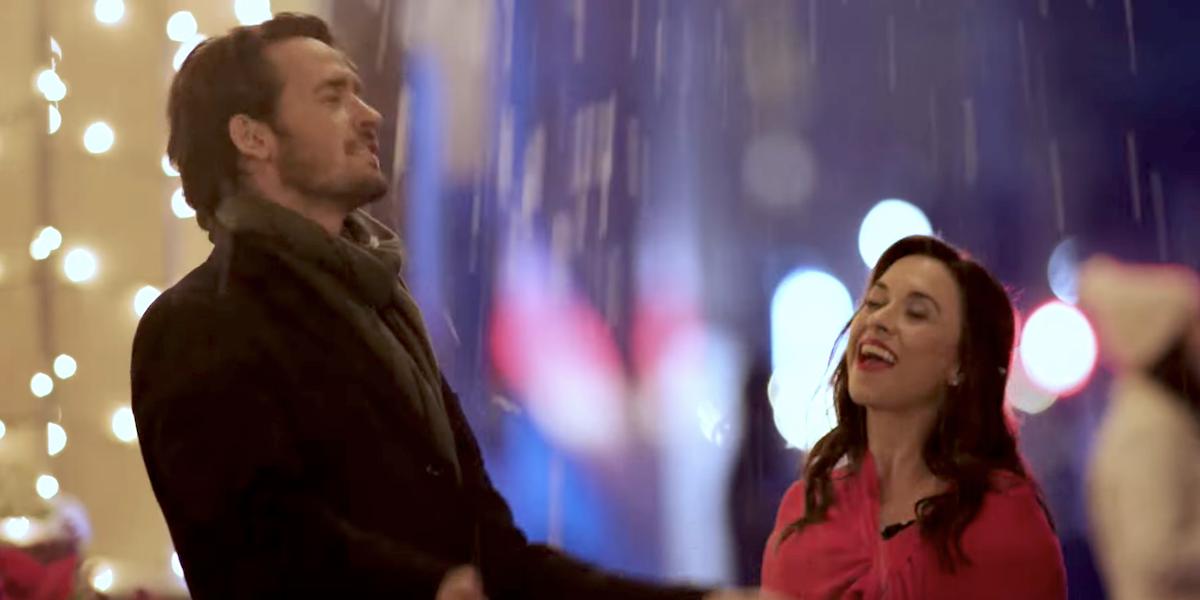 christmas waltz hallmark 2020 will kemp lacey chabert snowfall