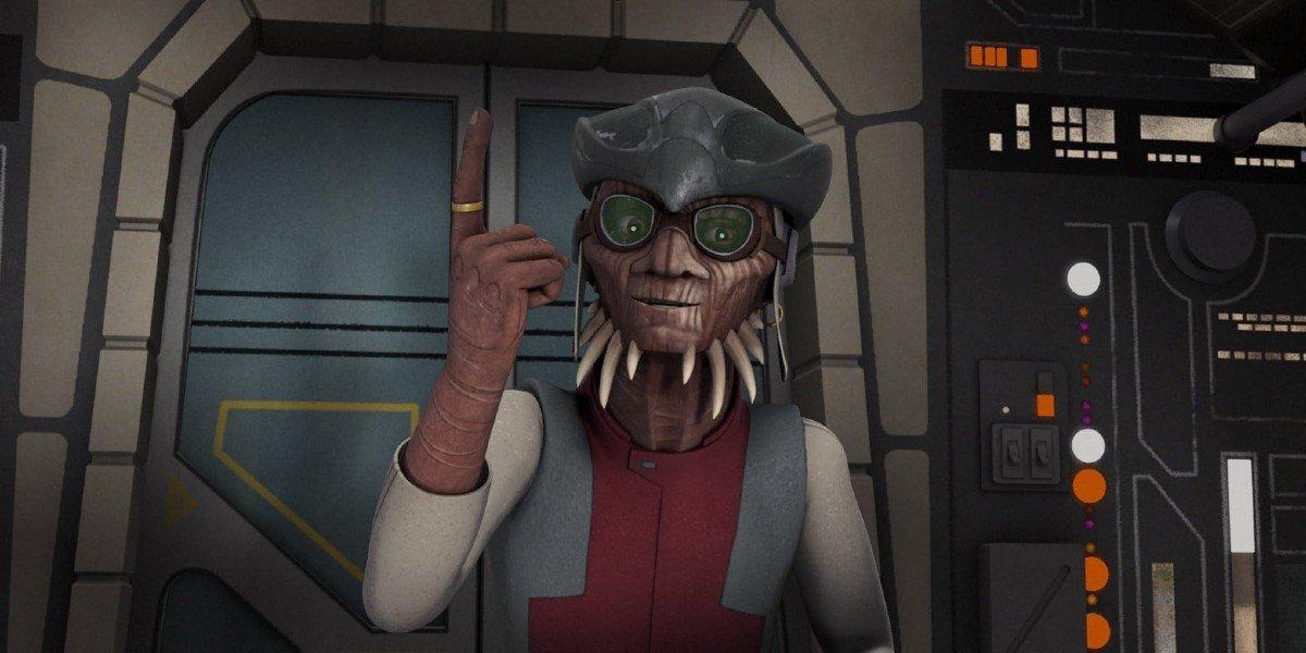 Hondo Ohnaka on Star Wars Rebels