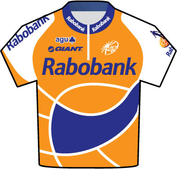 Rabobank Tour de France 2009 team jersey