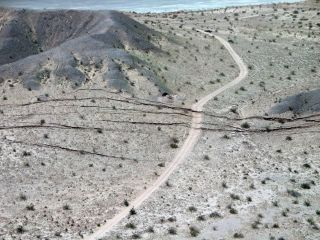 Baja California 7.2 Earthquake fault rupture