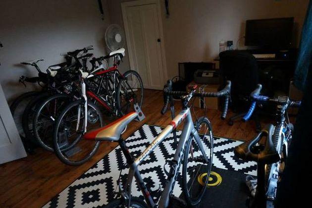 Nine reasons for having multiple bikes (clogging up the hallway)