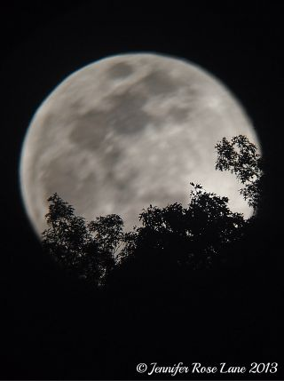 Supermoon from West Virginia