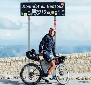 Lachlan Morton arrives on Mont Ventoux for first of two climbs