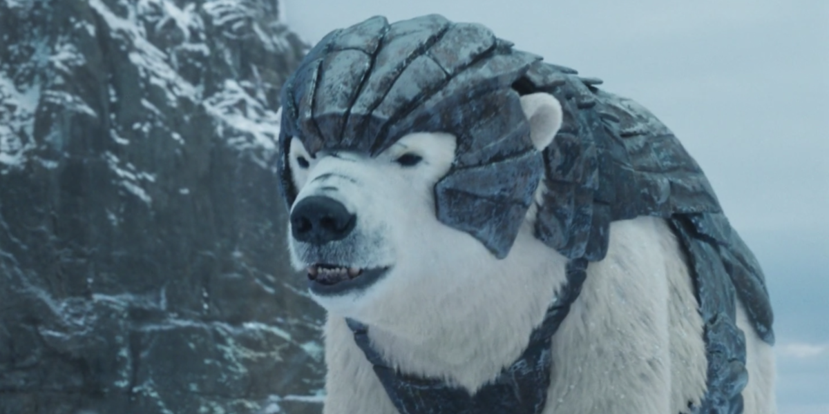 iorek byrnison his dark materials hbo screenshot