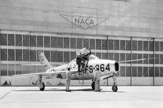 NACA, space history