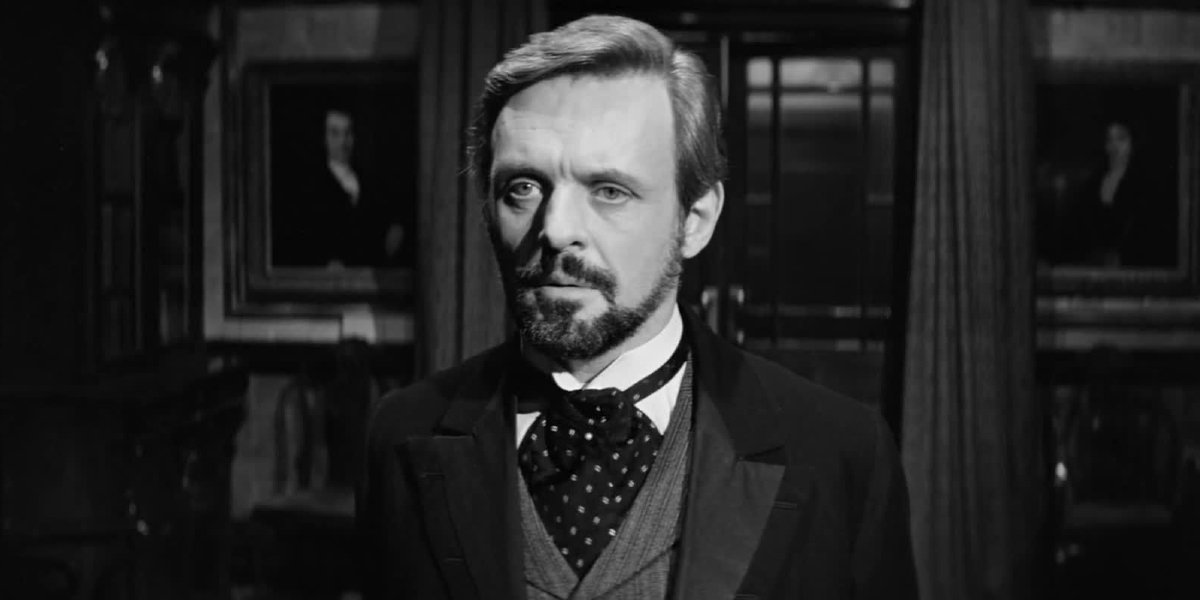 Anthony Hopkins in The Elephant Man