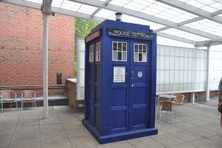 Dr. Who's TARDIS time machine