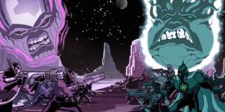 Kree-Skrull War Avengers Cartoon