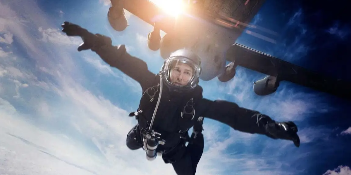 Tom Cruise HALO jump,. Mission: Impossible Fallout