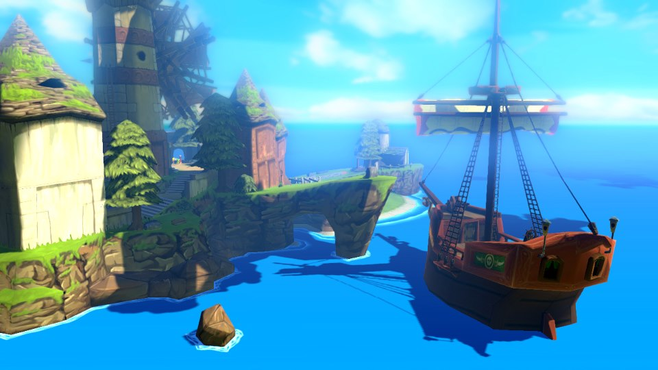 Legend Of Zelda: Wind Waker HD Coming To Wii U #25354