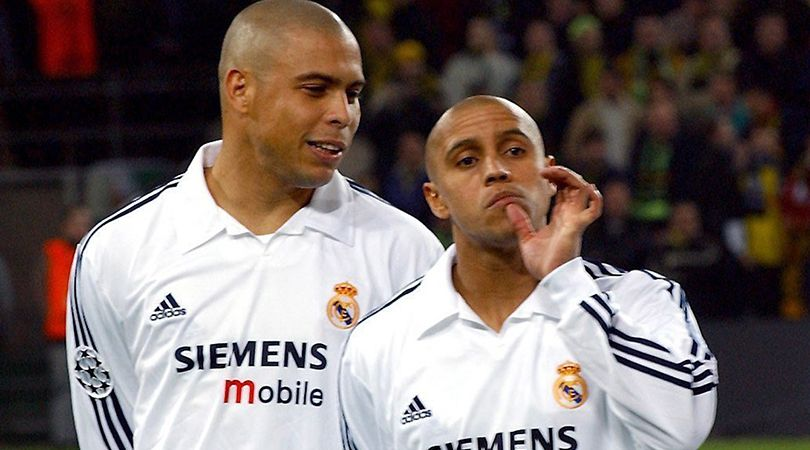 Roberto Carlos At The End Of The Day I Ve Slept In The Same Room As Ronaldo More Times Than With My Wife Fourfourtwo