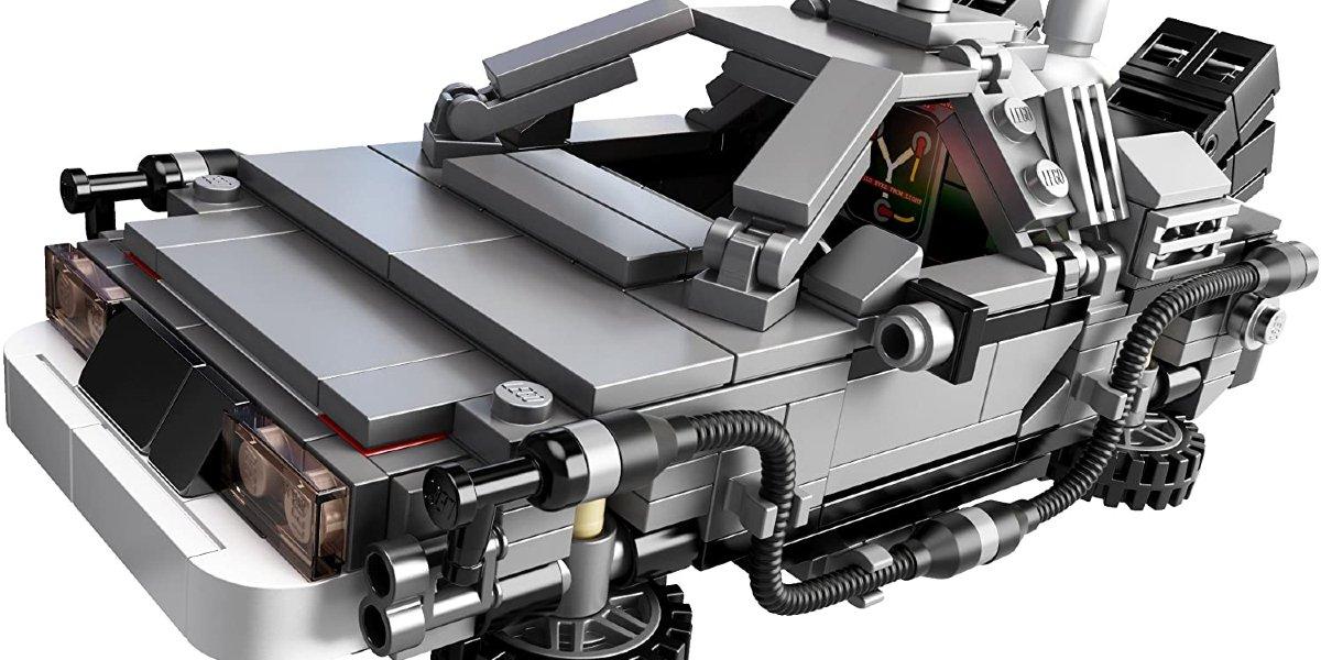 Back To The Future LEGO DeLorean Play Set