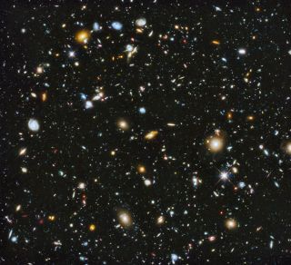 Across the Universe - 10,000 galaxies, hubble images