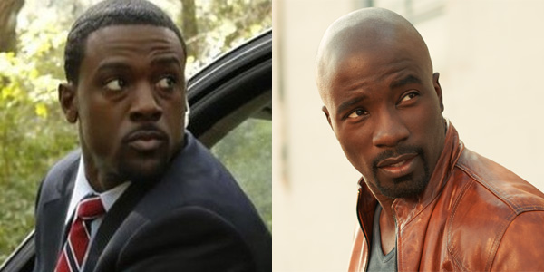 Lance Gross  and Mike Colter Luke Cage