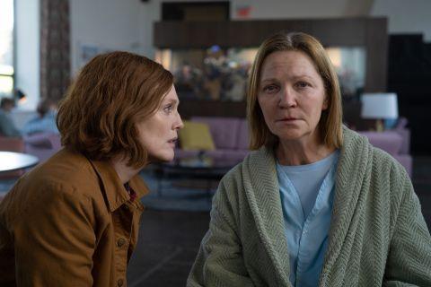 """Julianne Moore and Joan Allen in """"Lisey's Story""""."""