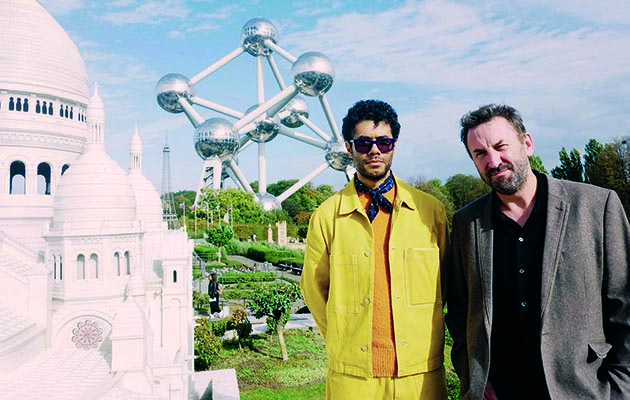 Lee Mack joins Richard Ayoade for a 48-hour tour of Brussels as the whistle-stop travel show returns.