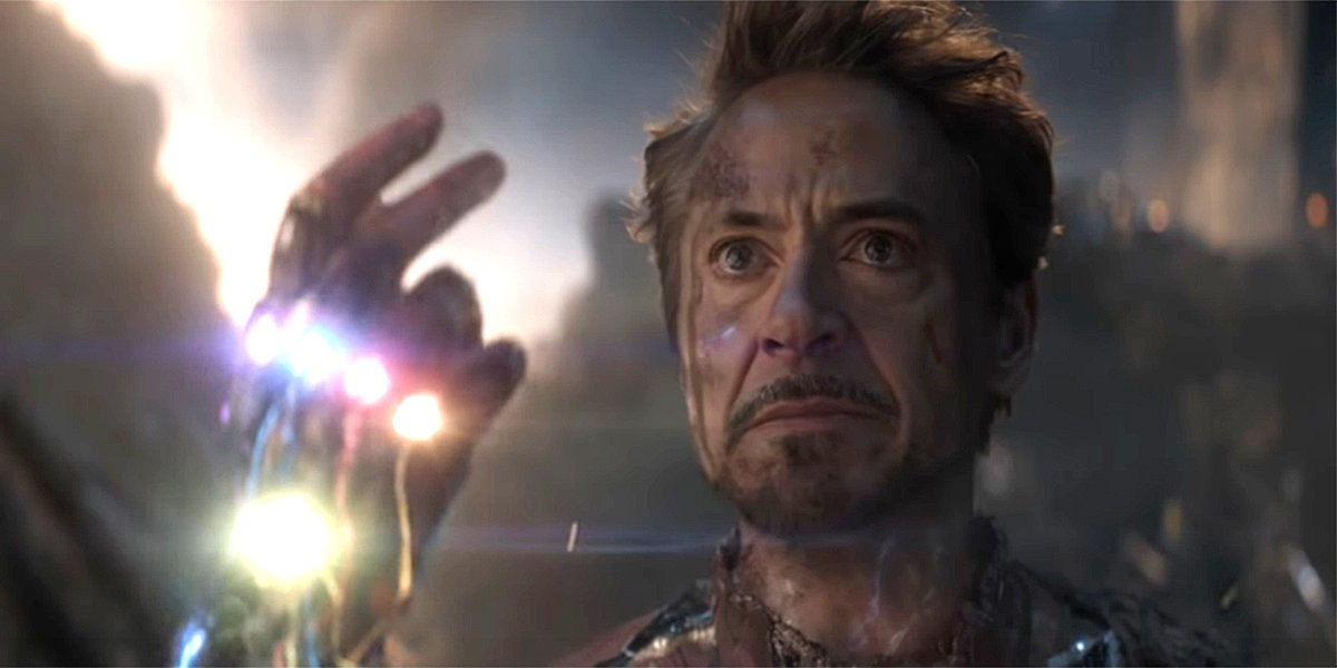 Avengers: Endgame Fans Found A Cool Clue To Iron Man's Snap In A Classic  Scene - CINEMABLEND