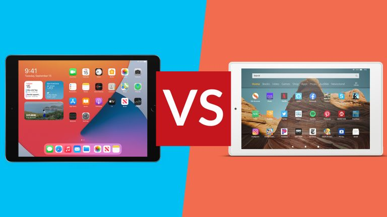 Apple iPad 10.2 vs Amazon Fire HD 10