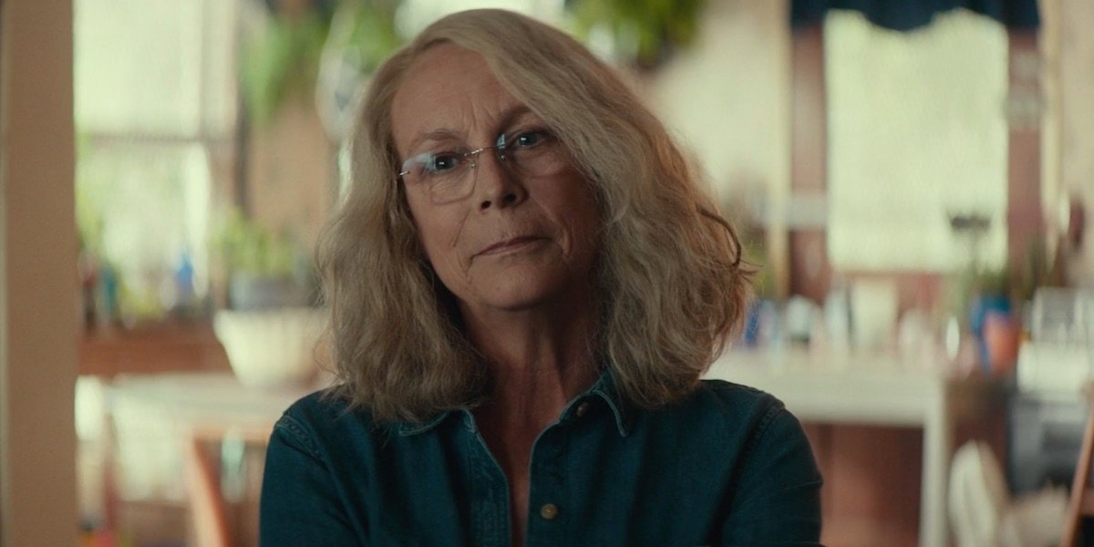 Jamie Lee Curtis in Laurie's home