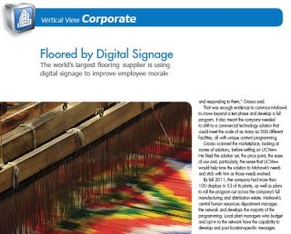 FLOORED BY DIGITAL SIGNAGE