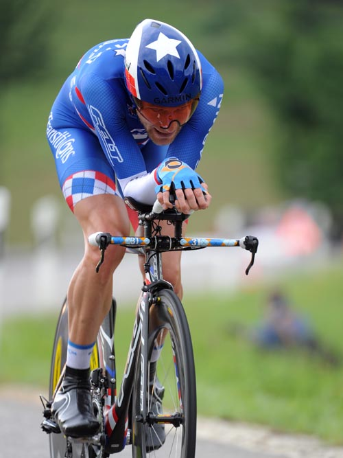 David Zabriskie, Tour de Suisse 2010, stage nine time trial