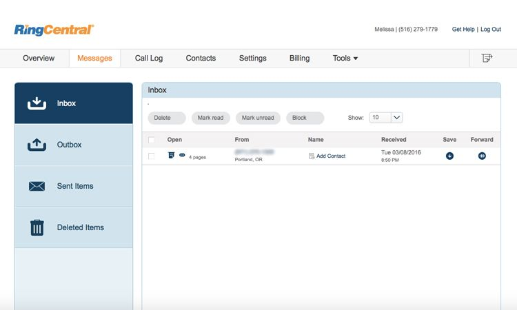 RingCentral Fax Review: Lacks a Focus on Faxing | Tom's Guide