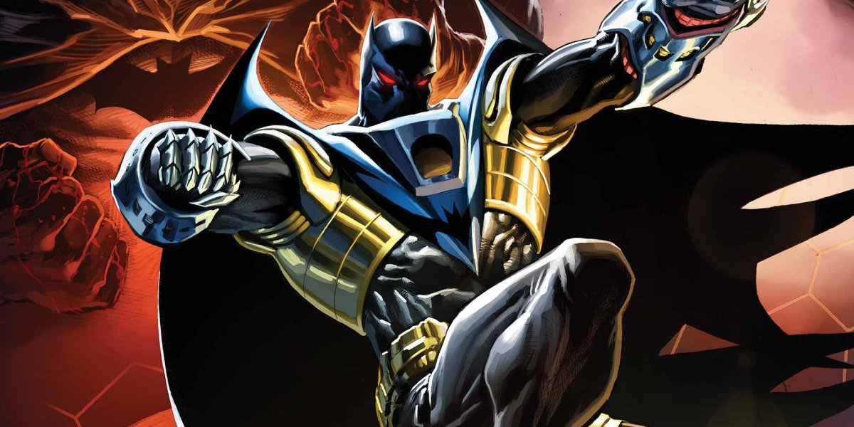 Batman ally, and philosophical opposer, Azrael