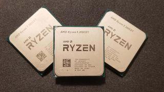 AMD Ryzen 9 3900XT, AMD Ryzen 7 3800XT and AMD Ryzen 5 3600XT