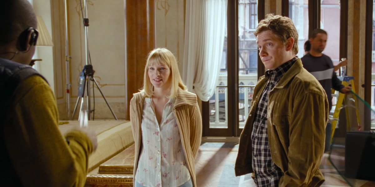 Martin Freeman and Joanna Page in Love Actually
