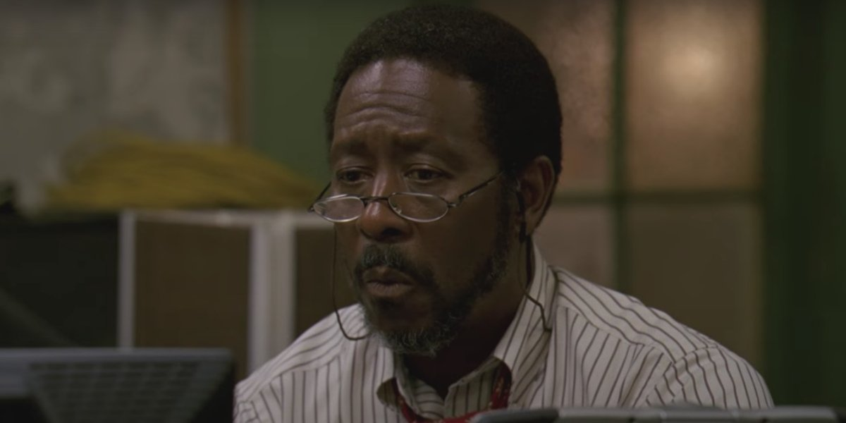 Clarke Peters on The Wire