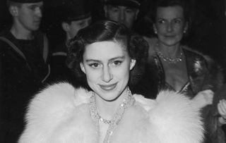 Programme Name: Princess Margaret: The Rebel Royal - TX: n/a - Episode: Princess Margaret: The Rebel Royal -EP1 (No. 1) - Picture Shows: Princess Margaret attending a film premiere in Leicester Square Princess Margaret - (C) Getty Images - Photographer: Ron Burton