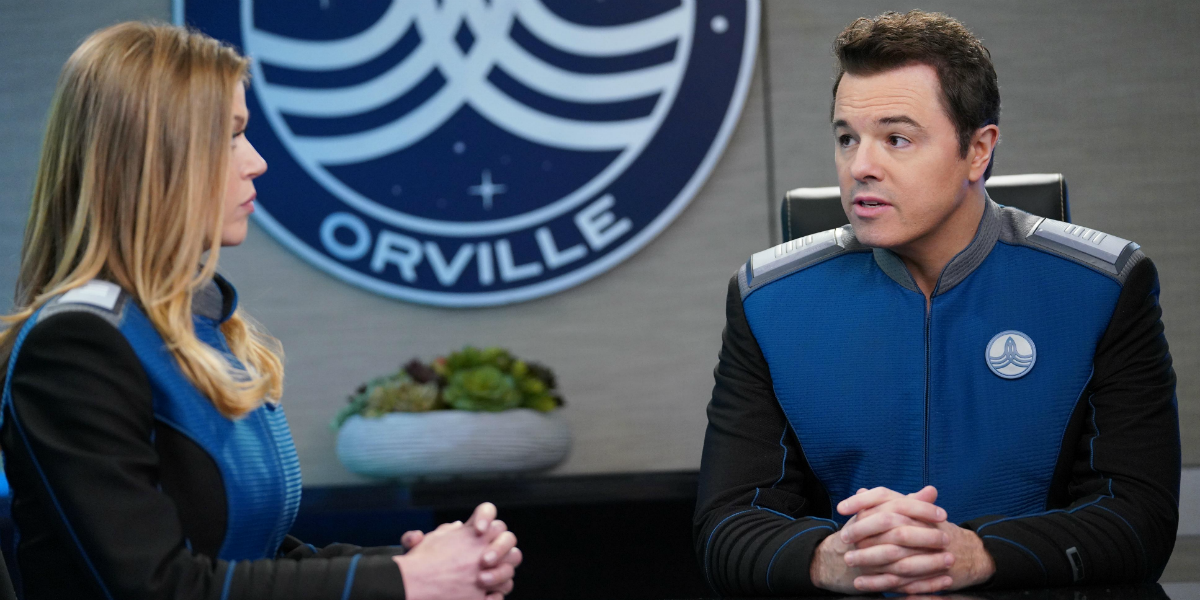 The Orville Kelly Grayson Adrianne Palicki Ed Mercer Seth MacFarlane FOX