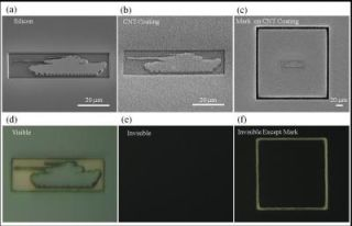 nanotube invisible material