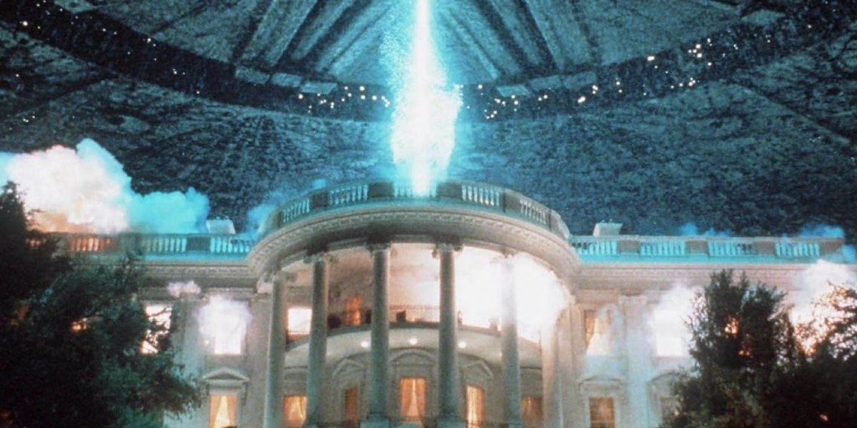 White House blown up in Independence Day