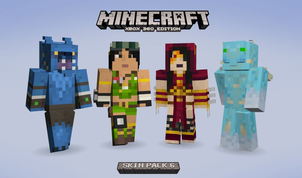 Minecraft Xbox 360 Edition Adding Killer Instinct Skins Soon