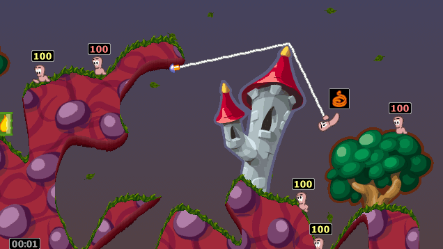 Worms Armageddon has been updated 21 years after it launched | PC Gamer